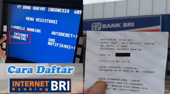 Cara Daftar Internet Banking BRI Lewat ATM Terdekat