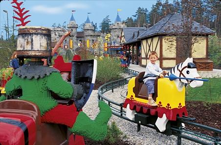 Legoland Florida Orlando - Parque Lego Kingdoms