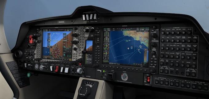 Update! Flight Simulator 2020 - Diamond DA62 Improvement Mod - V.1.4.1