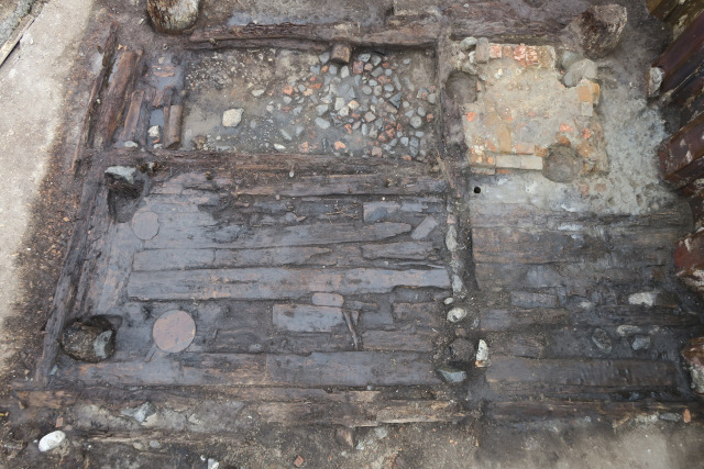 Medieval houses, ship remains discovered in central Swedish town