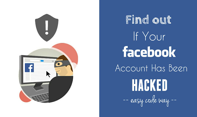 Find out hacked Facebook account