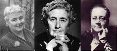 With Marsh, Margery Allingham (left), Agatha Christie and Dorothy L Sayers were the Queens of Crime