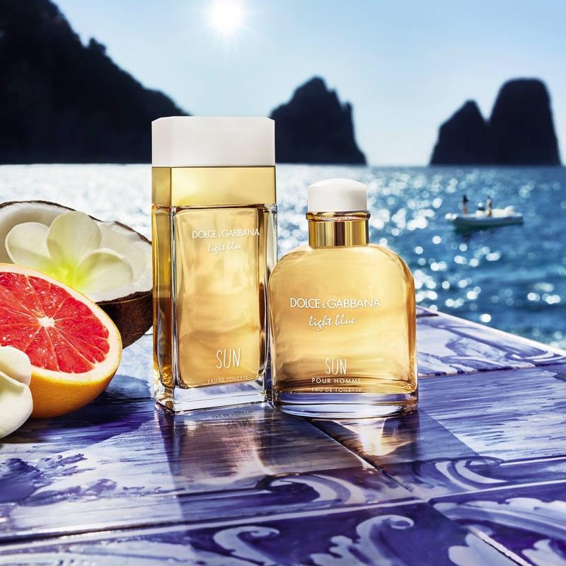 Dolce & Gabbana limited-edition Light Blue Sun fragrances