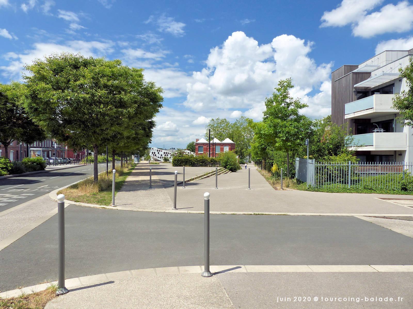 Rue des Joyeux Vergers, Tourcoing, 2020
