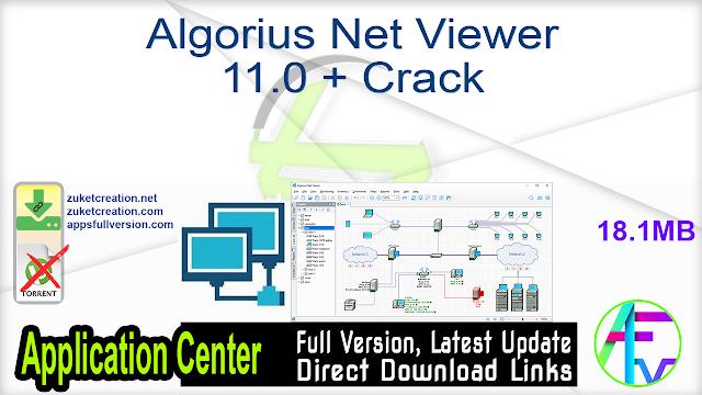 Algorius Net Viewer 11.0 + Crack