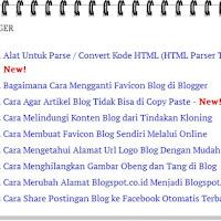 Cara Membuat Sitemap atau Daftar Isi di Blog (Blogger)