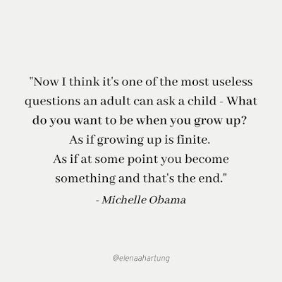 Growing Up Michelle Obama Quote