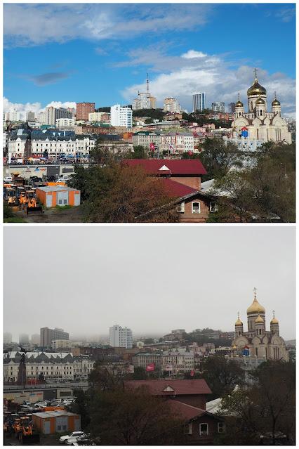 Владивосток - вид на центральную часть