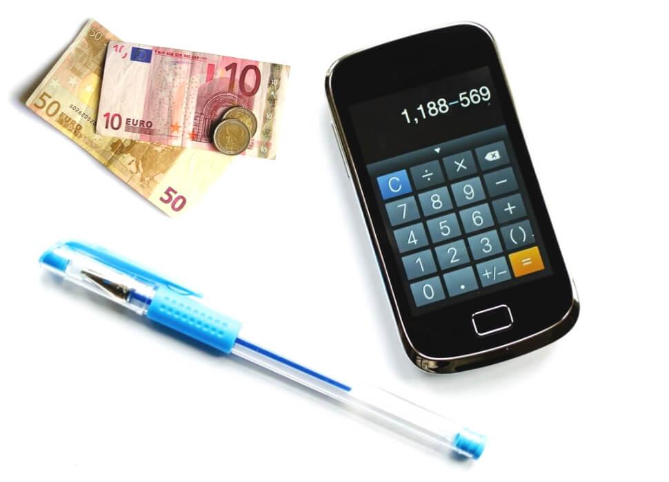 Inkomsten en uitgaven bijhouden