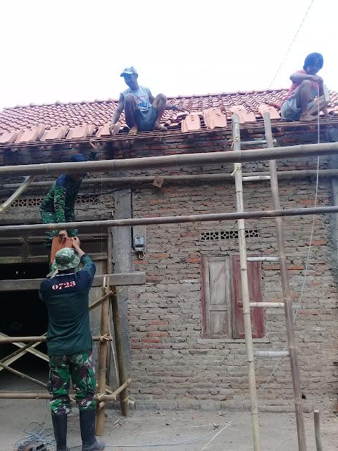 Rumah Sawiji Ikut Direhab Pada KBM Klaten Bersinar