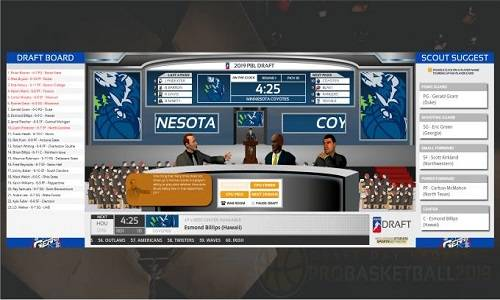 Draft Day Sports: Pro Basketball 2019 Game Free Download