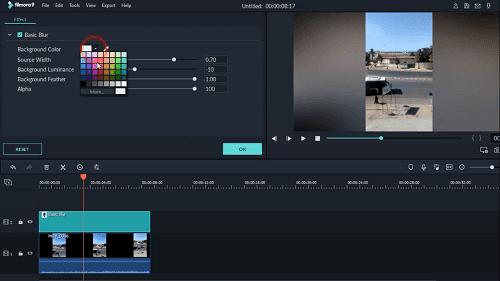 دورة شرح وإحتراف Filmora 9 تعلم المونتاج شرح filmora background blur effect