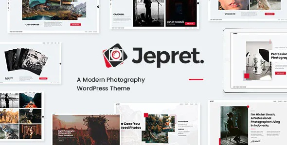 Best Modern Photography WordPress Theme