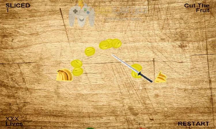 تحميل لعبة تقطيع الفواكه Fruit Ninja من ميديا فاير