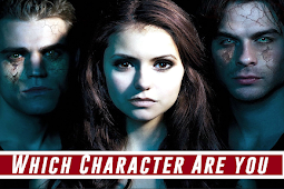 Which Vampire Diaries Character Are you? Take a Quiz