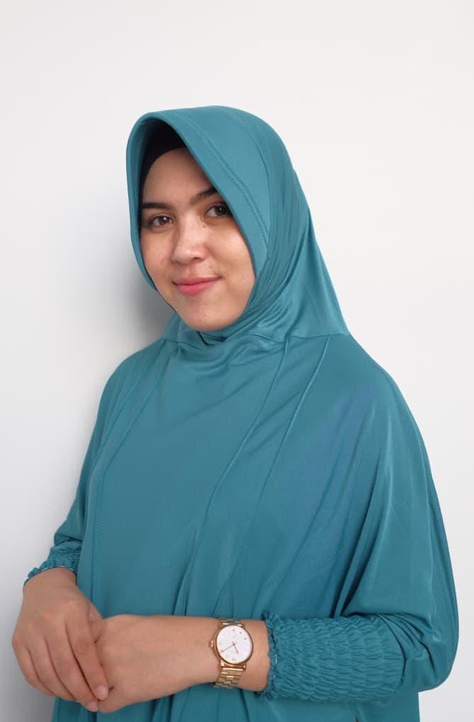 Jilbab Fatimah Bergo Lengan Panjang Jersey Terbaru Murah