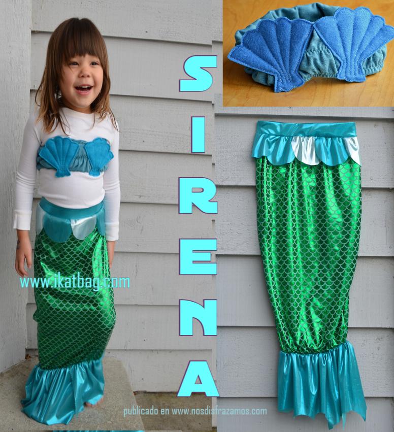 Ideas Para Disfraz De Sirena Nos Disfrazamos