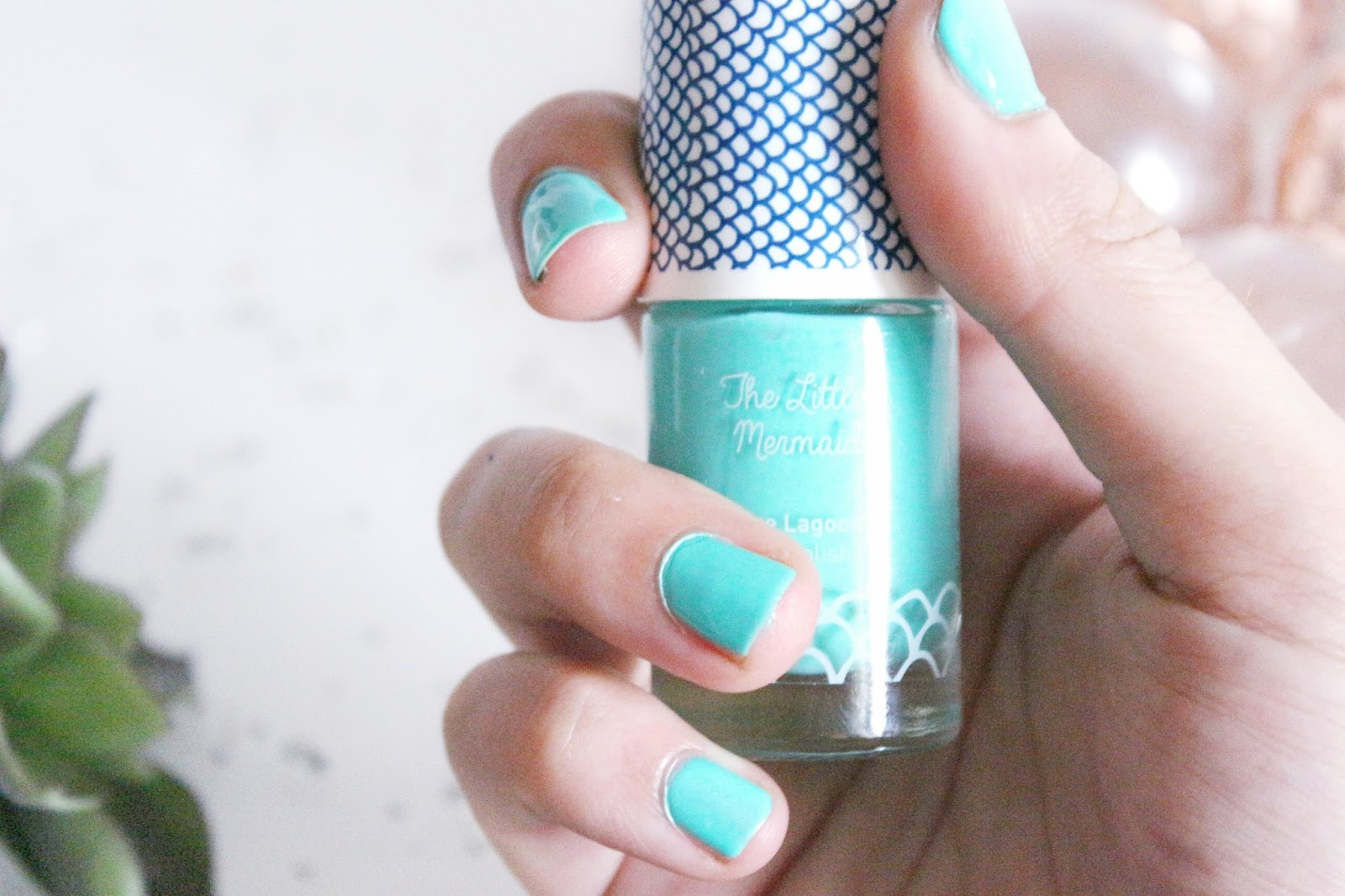 Vernis Mint The Little Mermaid
