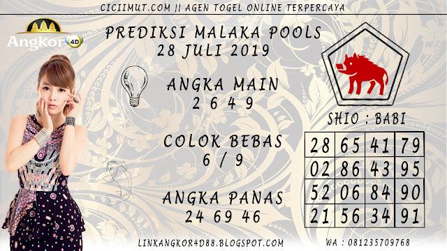 PREDIKSI MALAKA POOLS 28 JULI 2019