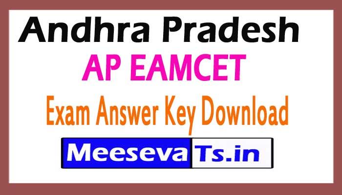 AP EAMCET Exam Answer Key Download 2017