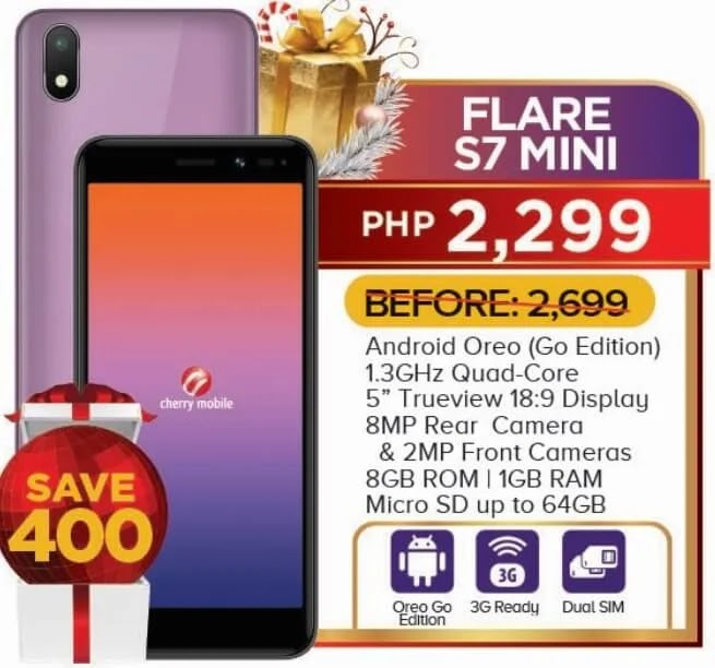 Cherry Mobile Flare S7 Mini Now Only Php2,299