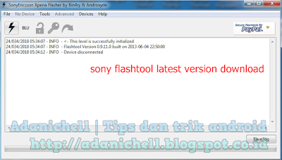 sony flashtool latest version download