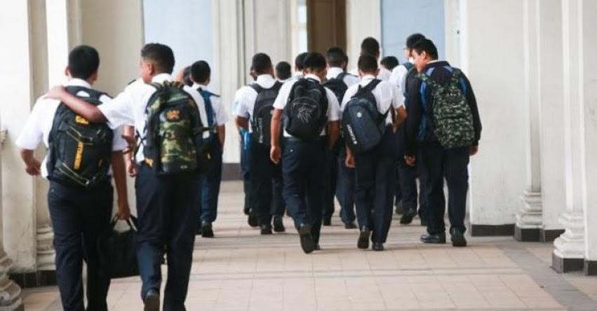 Gobierno anuncia la instalación de un grupo de trabajo para planificar el retorno presencial del año escolar 2021