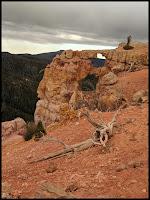 Bartizan Arch - Cedar Breaks past Ramparts