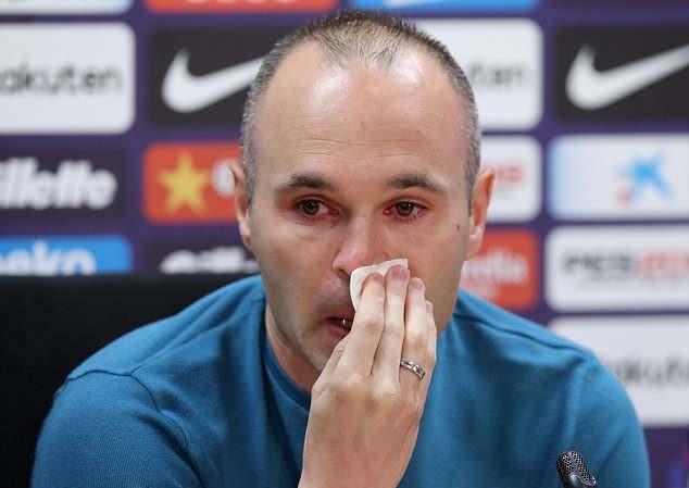 Pemain jantung Barcelona, akan hengkang musim ini