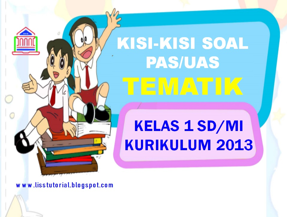 Kisi-kisi Soal PAS/UAS Tematik Kelas 2 SD/MI
