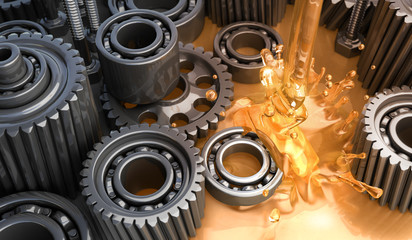 Functions of Engine Lubrication System