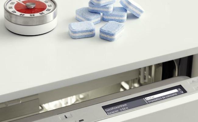 Lavavajillas MIELE G 6000 EcoFlex y Pastillas UltraTabs Mini