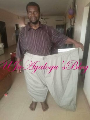 Very Impressive: Nigerian  Ex SUMO wrestler who lost tremendous weight tears the internet apart with his new looks