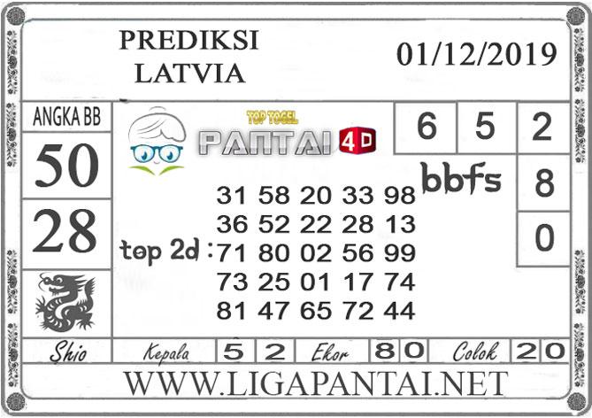 PREDIKSI TOGEL LATVIA PANTAI4D 01 DESEMBER 2019