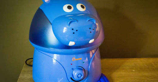 Review #91: Crane Hippo Humidifier