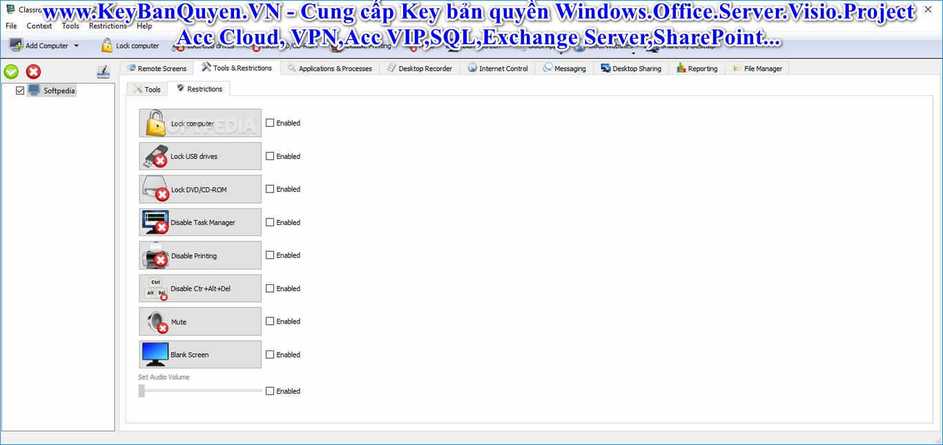 Download Classroom Spy Professional 4.7.12 Full Key,Phần mềm quản lý,giám sát lớp học.
