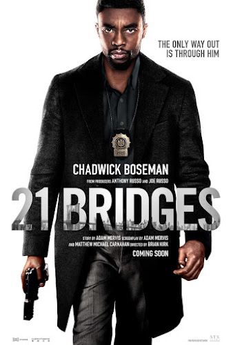 21 Bridges (BRRip 720p Dual Latino/Ingles) (2109)