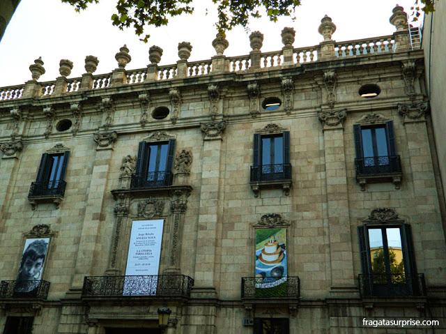 Palau de La Virreina (Palácio da Vice-rainha), Ramblas de Barcelona