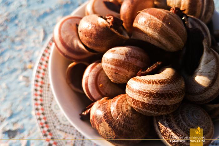 Asilah Food Trip Babbouche Snails