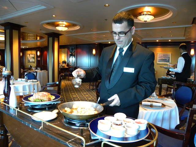 Ocean Liners Restaurant Celebrity Constellation
