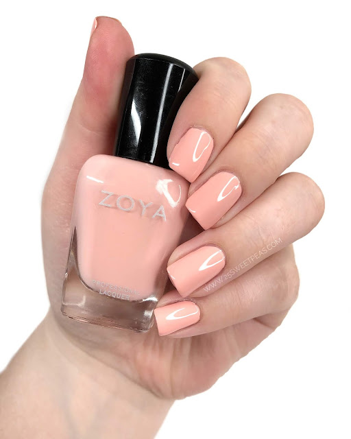 Zoya Joey Swatch 25 Sweetpeas