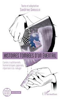 Histoires tombées d'un éventail : contes traditionnels humoristiques japonais, répertoire du rakugo