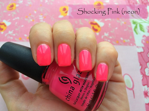♥ China Glaze - Shocking Pink (neon) ♥
