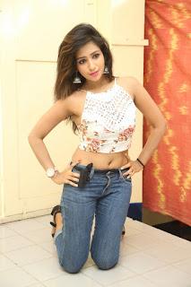 Deekshita Parvathi in a short crop top and Denim Jeans Spicy Pics Beautiful Actress Deekshita Parvathi January 2017 CelebxNext (141).JPG