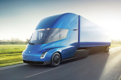 Prototipe Truck Listrik Tesla Semi Terlihat Sebelum Peluncuran