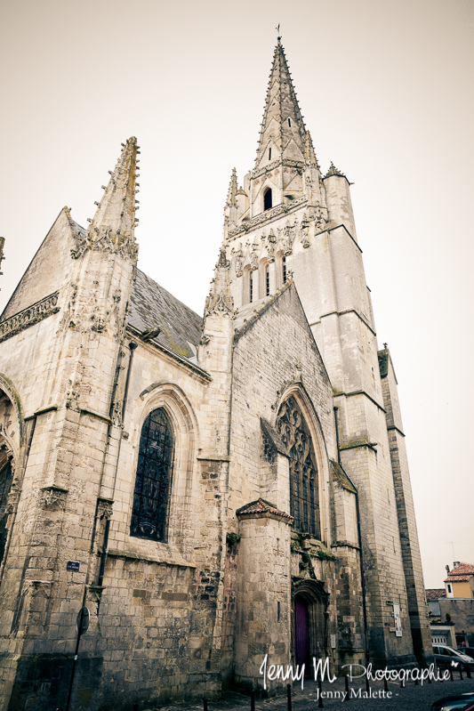 photo église notre dame fontenay le comte