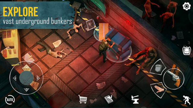 تحميل لعبة Live or Die Zombie Survival للهواتف مجانا