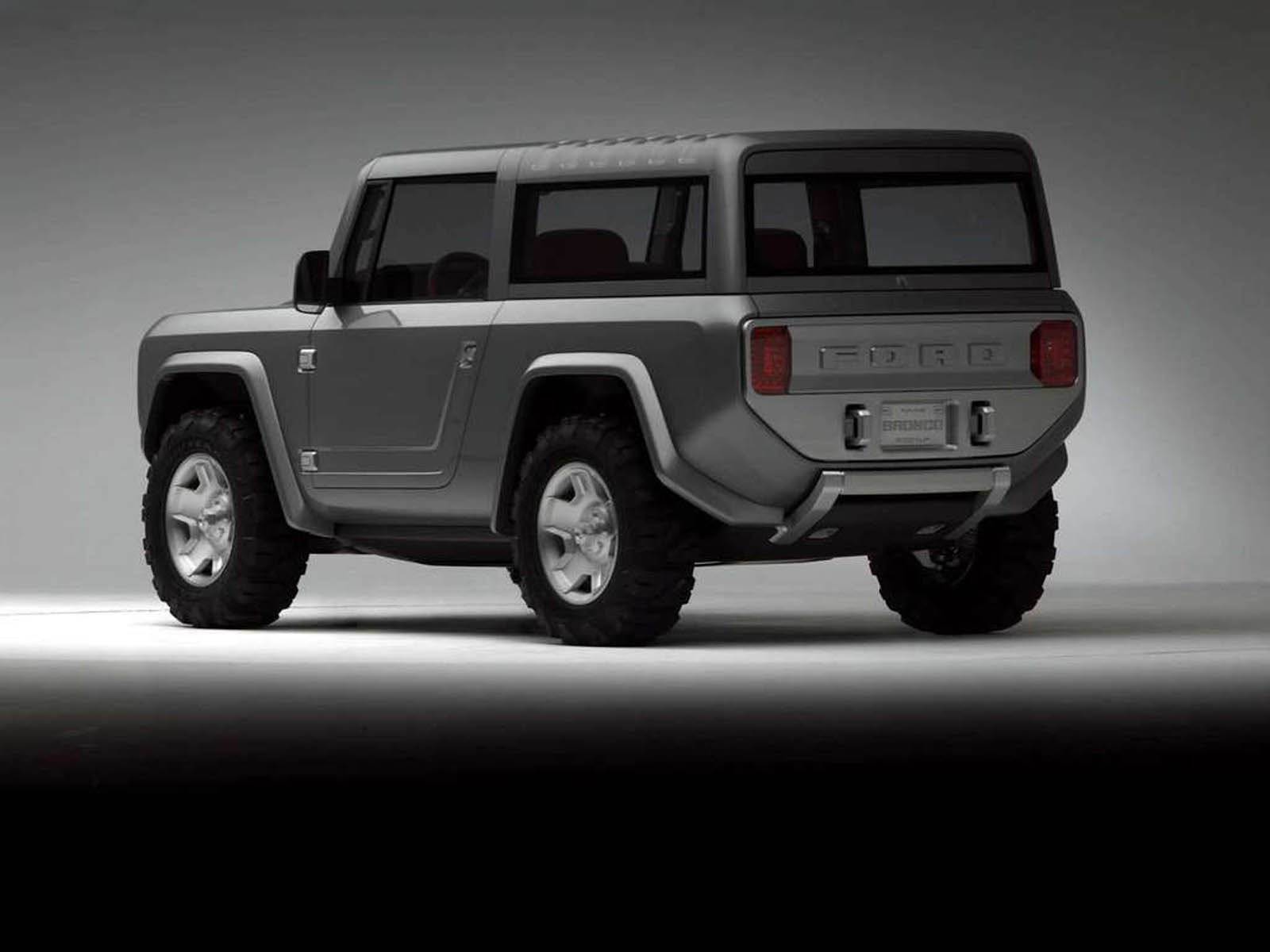 Wallpapers Ford Bronco Concept Car Wallpapers