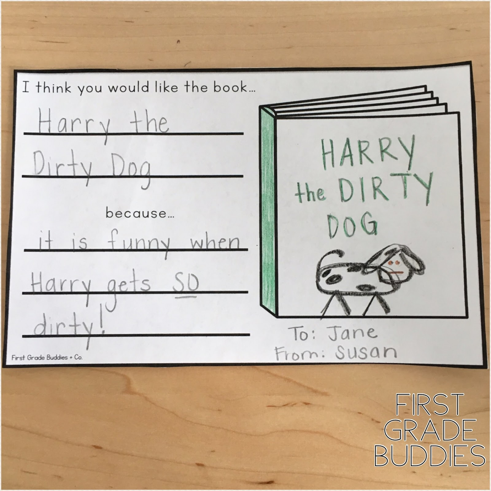 Pen Pals Through the Year | First Grade Buddies