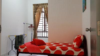 Bilik Tidur Kedua Homestay di NusaJaya Johor Bahru